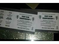 2x NE 26 fight tickets