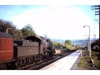 """""""Over the Rails of Wales"""" - steam in the 1950's and 1960's""""."""