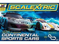 Scalextric Continental Sports Cars Race Set 1:32 Scale Toy Racing Car