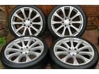 """BMW 1 3 series M3 Msport 19"""" alloy wheels - 5 x 120 - 245/35 - NOT OEM - 8.5j - £190"""