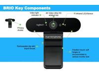 Brand New Logitech BRIO 4K Ultra HD Pro Webcam
