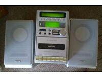 Philips Radio/Cassette/CD Player.