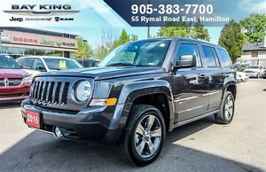2016 Jeep Patriot HIGH ALTITUDE 4X4, SUNROOF, BLUETOOTH, A/C
