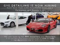 Car Detailer / PPF Installers required - Full time, Part time & Contracting positions available