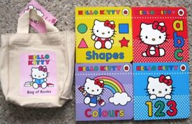 Hello Kitty toys, bag, books, cycling helmet and onsie. £1 - £4 each