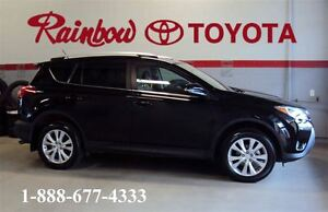 2015 Toyota RAV4 Limited    LOW, LOW KMS