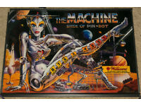 Pinball Machine: Williams 'The Machine - Bride of Pinbot' (fullsize 1990!)