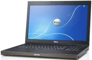 DELL PRECISION M6700,17 '' FHD non-glare i7 turbo 3.8GHZ 16GB,256GB SSD,1TB HDD,NVIDIA Quadro K3000M, AUTOCAD SOLIDWORKS