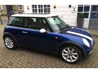 2003 AUTOMATIC MINI COOPER PANORAMIC ELECTRIC SUNROOF LEATHER TRIM EXCELLENT CONDITION AUTO MINI ONE