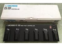 Boss FC-50 midi controller