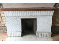 1970s Tiled Fire Surround