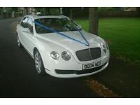 Wedding Hire Bentley Flying Spur Reasonable prices £250 2 Hour Hire.
