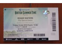 Roger Waters Hyde Park tickets X2