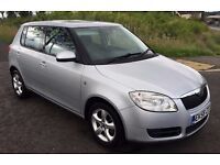 BARGAIN 2008 58 plate Fabia 2 1.2 htp 5 dr, silver , MOT APRIL 2017, chain driven, VERY CLEAN CAR !!