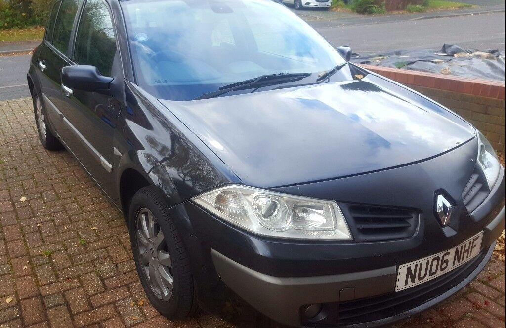 TOP SPEC *** Renault Megane facelift Dynamique 5 door 1.5 dCi 2006 £30 per yr road tax 9 months mot