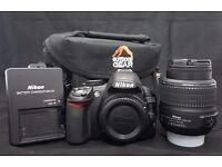 Nikon D3100 DSLR 14.2mp with 18-55mm lens