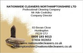 DOMESTIC CLEANERS REQUIRED NORTHAMPTON
