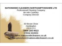 DOMESTIC CLEANERS ALWAYS REQUIRED WELLINGBOROUGH