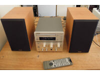 TEAC A-H300 Amplifier plus TEAC PD-H300 CD Player and TEAC LS300U Loudspeakers.Mint condition.