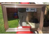 Large Framed Mirror Used - Ex Matalan - 90 cm by 65 cm
