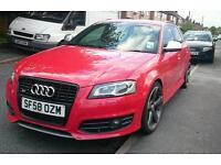 Audi s3 sportback face-lift 2009 black edition