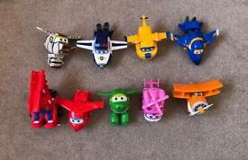 8 pcs Super Wings toys