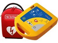 SaverOne Semi Automatic Defibrillator. Brand New.
