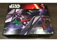 Star Wars Force Awakens Tie Fighter never opened still sealed