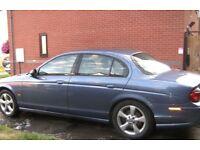 Jaguar S Type 2004 Auto, 3.0 ltr Petrol 6 months Mot plus some service history, good runner.