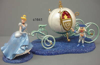 Dept 56 Disney Cinderella IT's ALMOST MIDNIGHT COACH new in box
