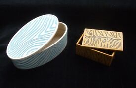 Trinket Boxes manufactured by History Craft