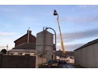 22m Height with Massive 17m Outreach Cherry Picker and Operator for Hire. Two Machines Available!