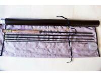 NYMPH ROD 4 piece 11ft weight 3