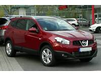 August 2010 (FACELIFT) Nissan Qashqai +2 1.5 Dci 7 SEATER! Pan-Roof, Bluetooth! Only 82000 Miles!