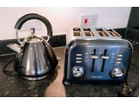 Morphy Richards Kettle and Toaster set.