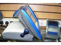 very fast 4 tone epos till system with cash drawer & matching printer full software pub club retail