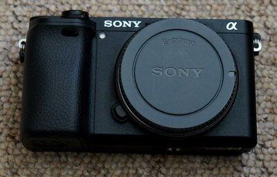 Sony Alpha A6300 Mirrorless Camera Black Body - excellent !