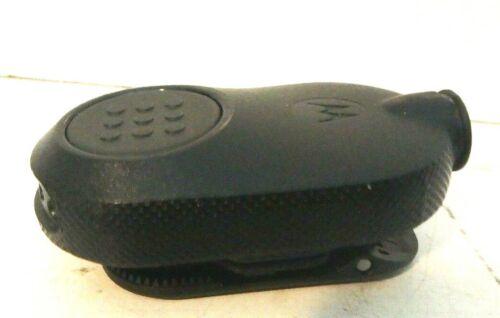 Motorola NNTN8143C Bluetooth PTT Wireless Push-To-Talk Pod Dust Covers Not Incl.