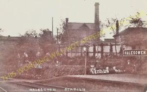 Halesowen Railway Station Photo. Old Hill - Hunnington. Northfield Line. (14)