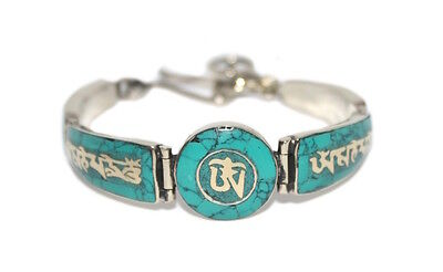 Turquoise Bracelet Tibetan Bracelet Silver Bracelet Tribal Bracelet Boho Gypsy