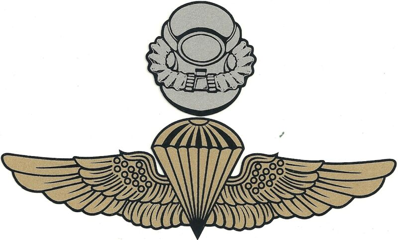 MARINE CORPS FORCE RECON SCUBA  MILITARY STICKER DECAL
