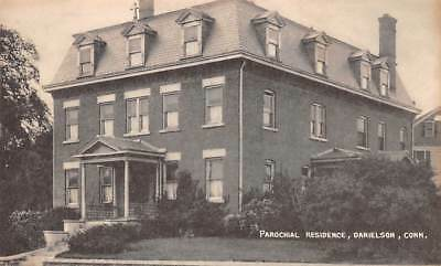Danielson  Ct   Parochial Residence   Surroundings  Collotype Pub   C  1930S