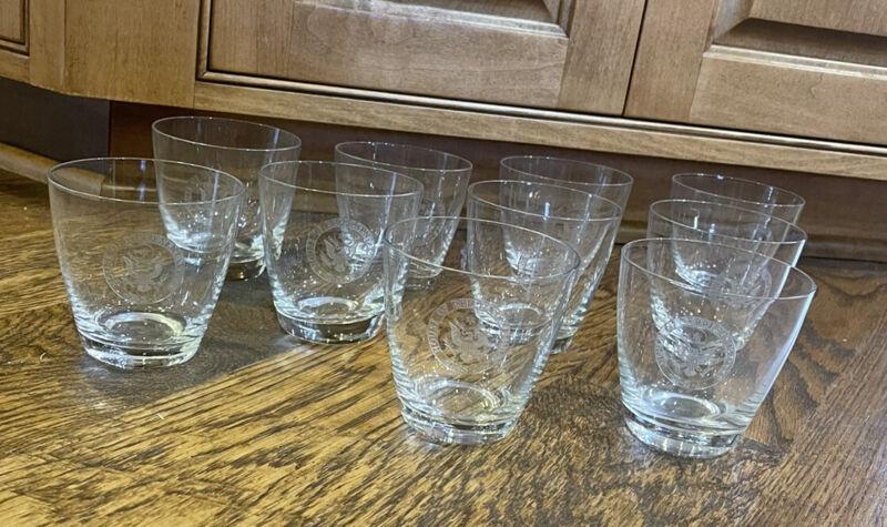 (10) Vintage Fostoria House Of Representatives Cocktail Glasses