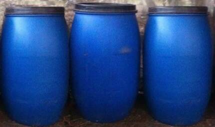 120 litres plastic barrels / drums with lid / water tank Springvale Greater Dandenong Preview