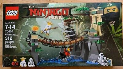 LEGO 70608 Ninjago Movie Master Falls Jungle Bridge Brand New Sealed Free Ship