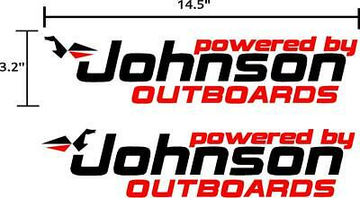 Outboard Motor Decals (Johnson Outboard motor decals stickers graphics.)