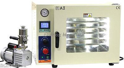 Ai 5-sided Ulcsa Certified 110v 1.9 Cf Vacuum Oven W 110220v 7 Cfm Pump