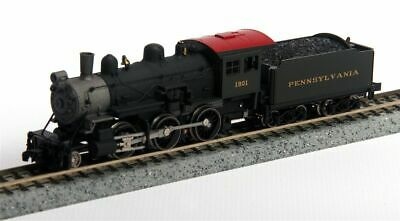 MODEL POWER 87608 N SCALE Pennsylvania Steam 2-6-0 Mogul - NEW