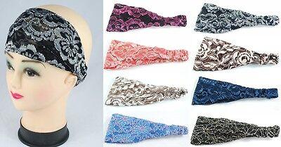rbänder Kopftuch Bandana Stirnband Stirnbänder stylisch NEU (Bandana Stirnbänder)