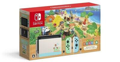 Nintendo Switch Console 32GB Animal Crossing New Horizons Edition